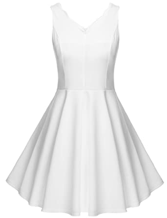 131688fa025a FANEO White Sundresses for Women