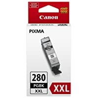 Canon Genuine Ink Cartridge PGI-280XXL Pigment Black Ink - 1967C001