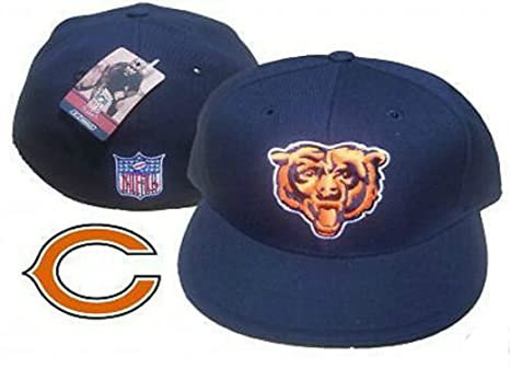 caa840291 Image Unavailable. Image not available for. Color  Chicago Bears Fitted ...
