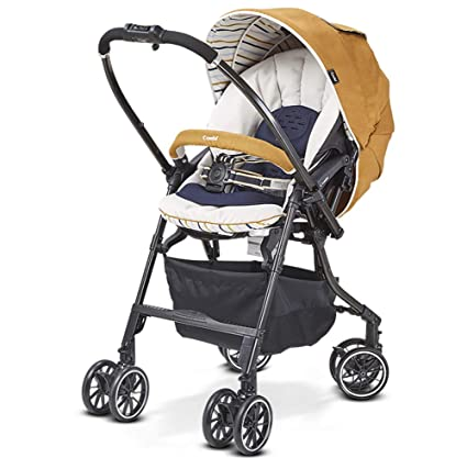 XUE Cochecito de bebé para recién Nacido y niño-Convertible Cuna Cochecito Compacto Solo bebé