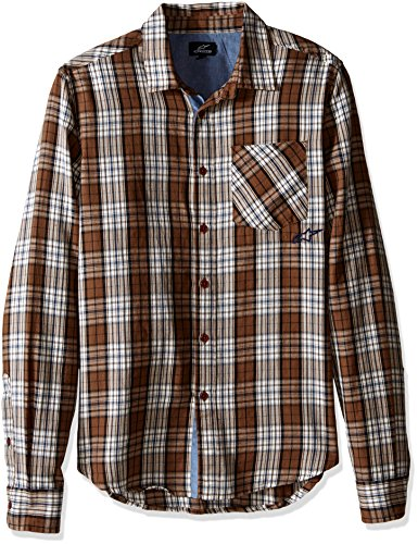 Alpinestars Sleeve Brown Shirt Long Process rgRqOr7
