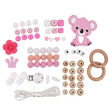 Skulls And Hearts On White Dummy Binky Clip Australian Standard Compliant Long Performance Life