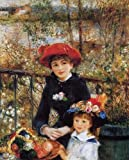 Pierre Auguste Renoir Two Sisters Aka On The Terrace 30x38 [Kitchen]