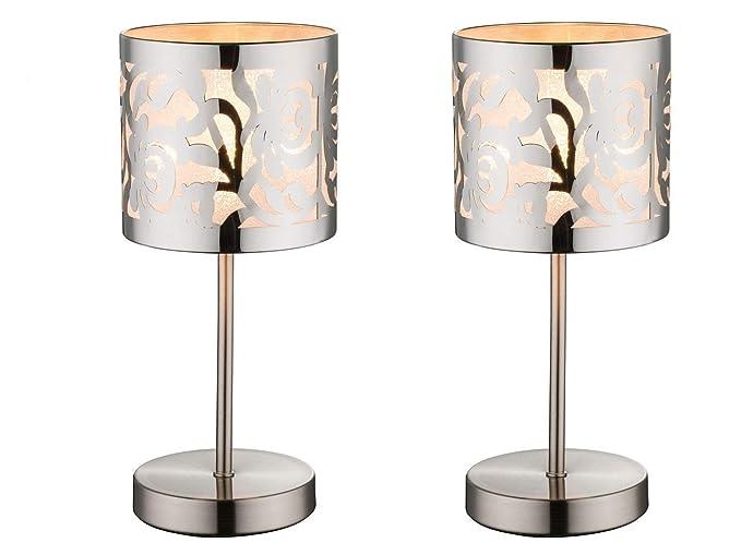 Juego de 2 Lámpara de mesa/Noche Lámpara de mesa Bent ...