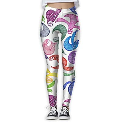 Womens Yoga Sloth New Fashion GYM Sportswear Slim Active Yoga Jogger Pants Personalized Casual Pants For Women Home & Outdoor