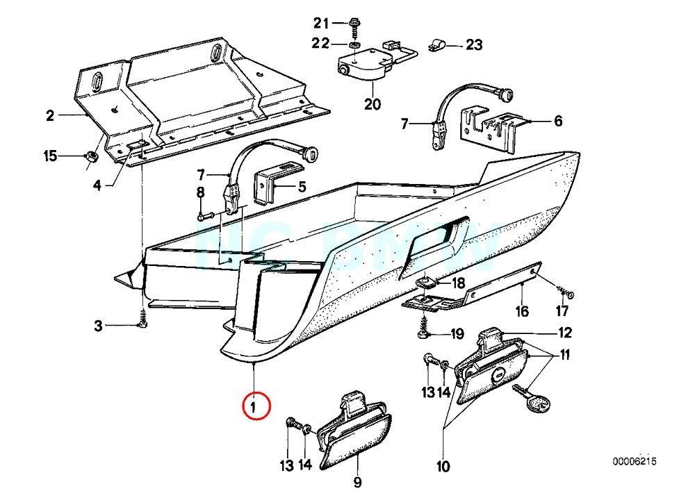 Amazon Com Bmw Genuine Glove Box Automotive