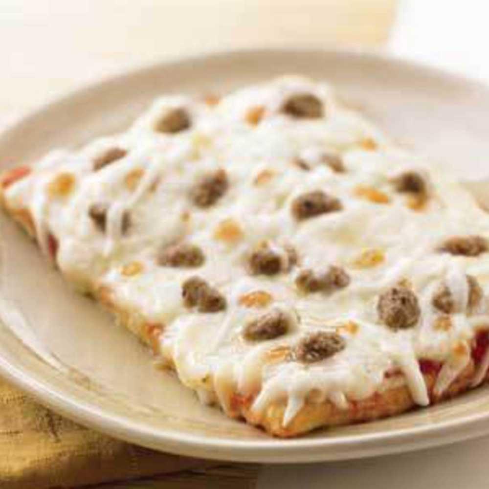 Tonys Smart Pizza Whole Grain Sausage Pizza -- 96 per case.