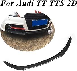 Car Rear Bumper Lip Diffuser Spoiler Carbon Fiber Fit for Audi TT 8J 2006-2010