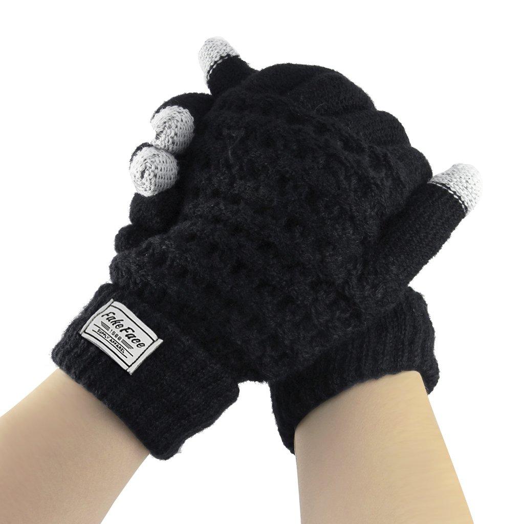 L Y Liying Unisex Touchscreen Handschuhe Fingerhandschuhe Strickhandschuhe f/ür Winter