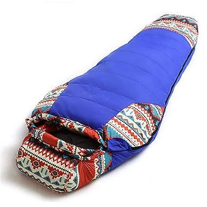 Impermeable Momia Sacos de Dormir Ultraligero Abajo Deporte Senderismo al Aire Libre Invierno Camping Pato Abajo