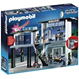 Playmobil City Action Police Station with Alarm System