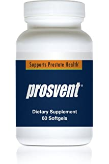 PROSVENT-Natural Prostate Health Supplement -Clinically Tested Ingredients- Reduce Urgency & Frequency.