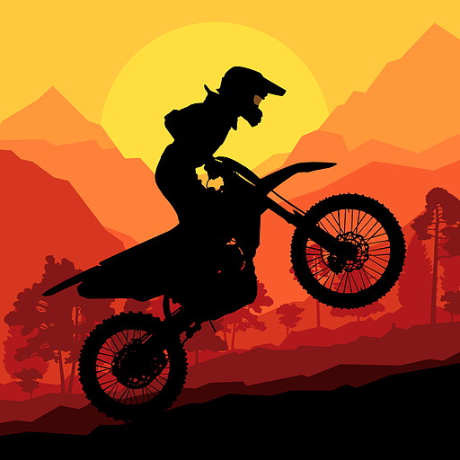(Sunset Bike Racer - Motocross Hill)
