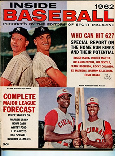 Inside Baseball 1962-Mickey Mantle-Roger Maris-Frank Robinson-MLB-pix-VG