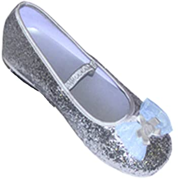 0b70ab6677aa Silver Glitter Party Shoes - Kids Accessory 3 - 4 years  Travis ...