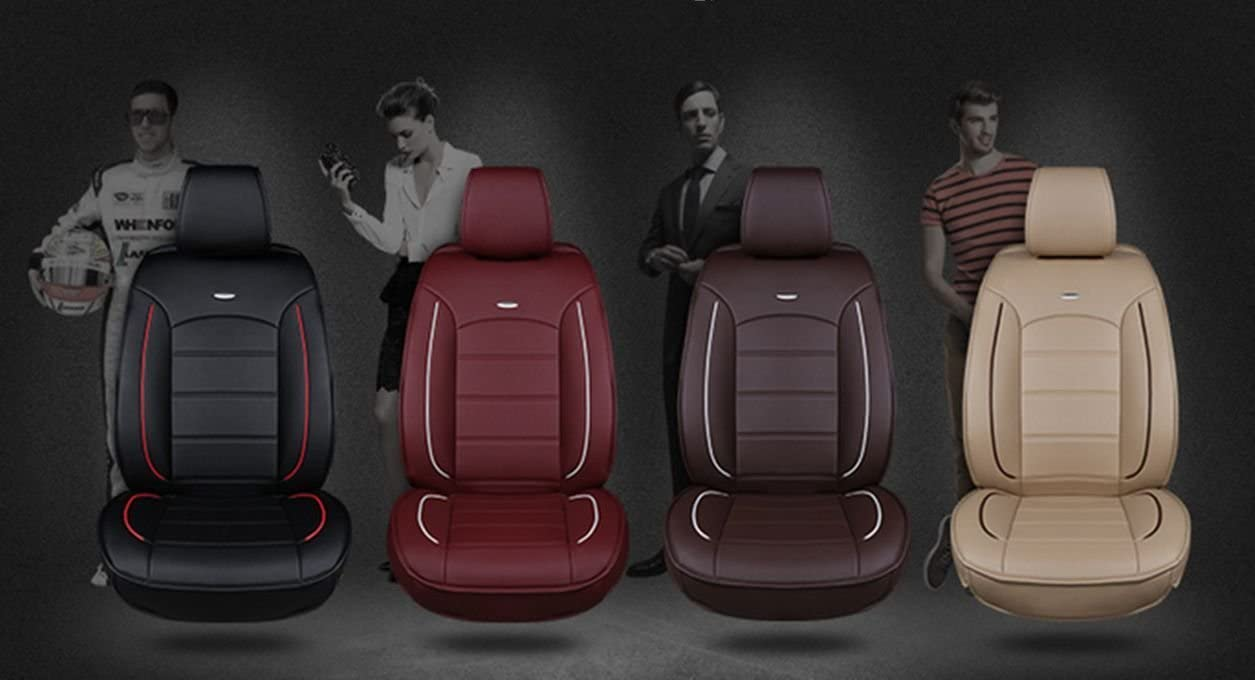 GREY 12-ON HEAVY DUTY CAR SEAT COVER FULL SET TRAX BLACK AUDI A6 S6
