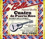 LaBella 700C Cuatro De Puerto Rico Set