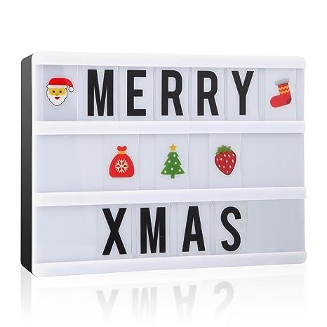 LED caja de luz A5 bombilla Buzón con letras nxentc ligero ...