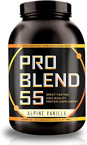 Pro Blend 55 Protein Powder Low Carb Gainer Meal Replacement Powder Whey
