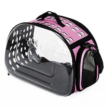 JYH Productos Para Mascotas Kit para gato, bolso transparente para gato, bolsa de mensajero