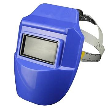 Máscara de soldadura profesional para casco Arc Tig Mig (azul): Amazon.es: Bricolaje y herramientas