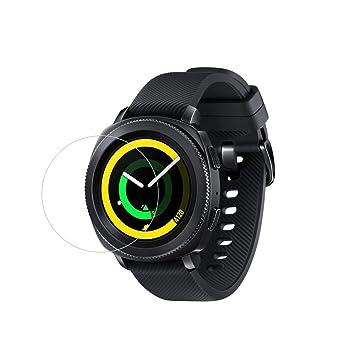 (Paquete de 2) Protector de pantalla para Samsung Gear Sport, 9H Protector de