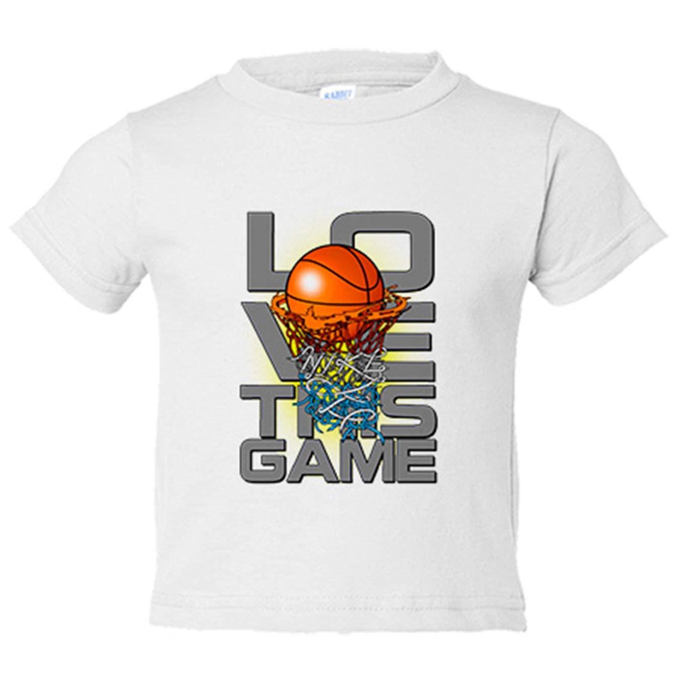 Camiseta niño I Love This Game Basketball me gusta el baloncesto ...