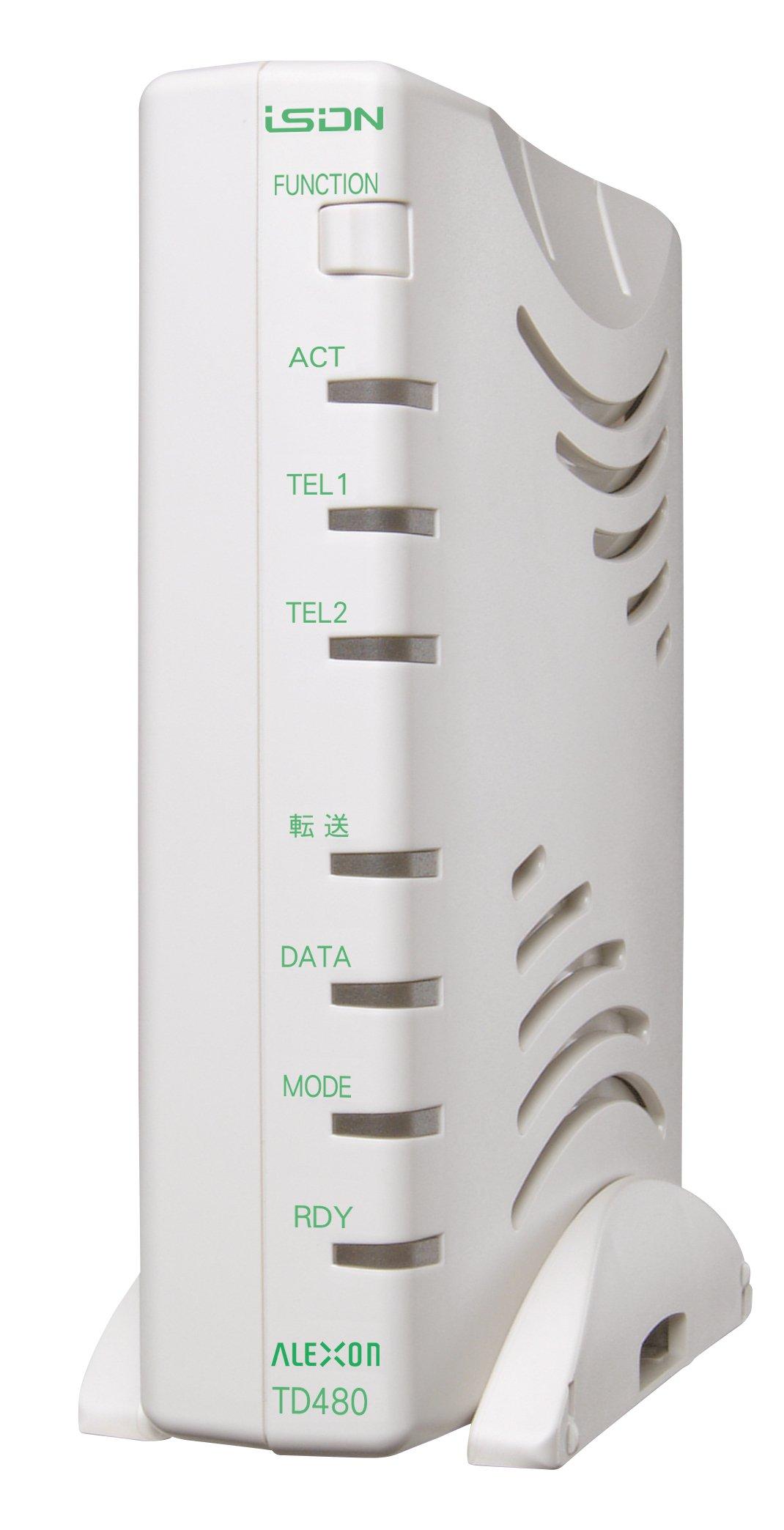 アレクソン ISDNターミナルアダプタ(DSU付) ALEX-TD480