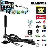 BKAUK Freeview 5dBi DVB-T TV HDTV Antenna Booster digitale portatile