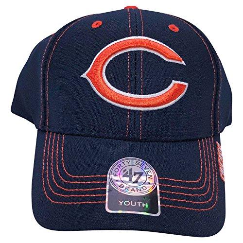 Reebok NFL Chicago Bears Youth Adjustable Hat (Reebok Bears)