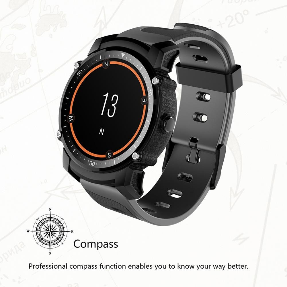 Awakingdemi FS08 Bluetooth IP68 Swim Impermeable 1.26 Pulgadas GPS ...