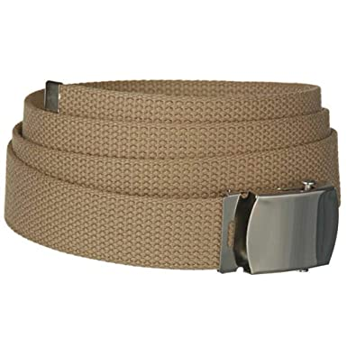 c1da9725563ad Ceinture militaire sangle attache boucle - Noir - MFH: Amazon.fr ...