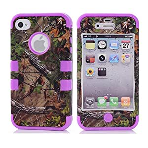 iPhone 5 Case,iPhone 5S Case,5S Case,Creativecase#I5-004 iPhone 5 Case for girls,Luxury beautiful [3in1 Hybrid Design] New fashion Tree and Flowers pattern Hard Back Shell iPhone 5 Case Cover Perfect Fit For iPhone 5/5G/5S DD#8S