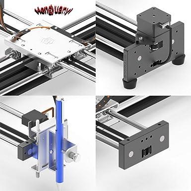 GKDraw X3 DIY Corexy XY GRBL Plotter - Kit de rotulador, máquina de dibujo, robot de escritura, perfecto arte ...