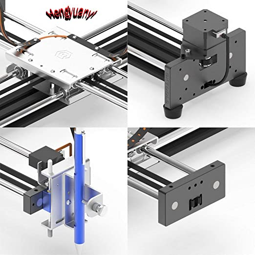 GKDraw X3 DIY Corexy XY GRBL Plotter Drawing Machine Kit Lettering Robot Perfect art CNC Writing Robot Toys Laser Module (Standard): Amazon.es: Industria, empresas y ciencia