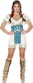 Spirit Animal Indian Girl Halloween Costume  sc 1 st  Amazon.com & Amazon.com: Coachella Party Girl Halloween Costume: Clothing