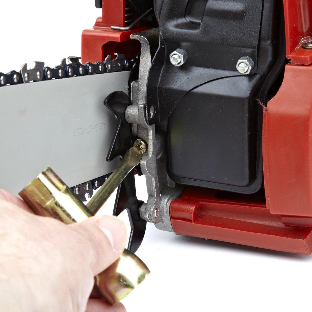 Robust mit 40 cm Verl/ängerungsstange Trueshopping 38 Cc Kettens/äge Benzin Easy Start Ideal f/ür Gartenarbeiten und Holzs/ägearbeiten 2 Takt Motor Luftgek/ühlt Leichtgewichtig