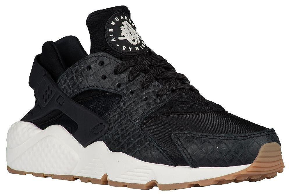 sports shoes 31531 b603a Amazon.com   Nike Women s Air Huarache Run PRM (6, Black Sail Gum Med Brown)    Athletic