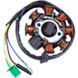 61tA20z9DQL._AC_UL160_SR160,160_  Wire Stator Magneto Wiring Diagram on gy6 8 pole, honda c70, rt1b, xr650r, honda beat, lancin 5 wire, dirt bike, mariner two wire, race tech high output, yamaha dt,