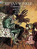 img - for Rip Van Winkle Coloring Book (Dover Classic Stories Coloring Book) book / textbook / text book