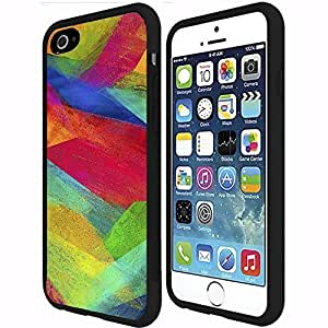 Artistic Rainbow Rubber Snap on Phone Case (iPhone 6 Plus) by runtopwell