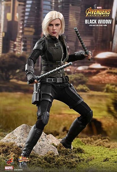 Hot Toys Marvel Movie Captain America 3 Civil War Black Widow Cosbaby