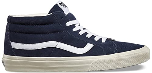 056bf7bf48 Vans Sk8-Mid (Vintage) Ombre Blue Mid Skate Shoes UK 7  Amazon.co.uk ...