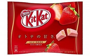 Japanese Kit Kat - Strawberry Flavor 5 14 Oz