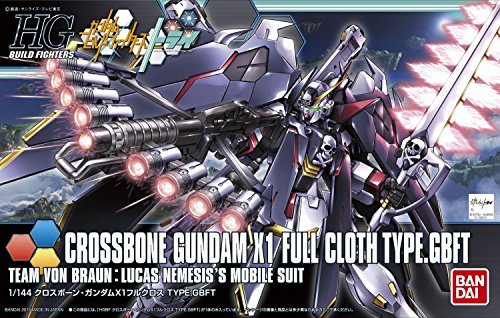 Full Scale High End - Bandai Hobby 1/144-Scale High Grade Crossbone X-1 Full Cloth Ver. GBF