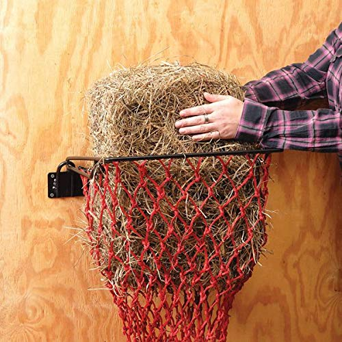 Tough-1 Hay Hoops Original Collapsible Wall Feeder w/Net R