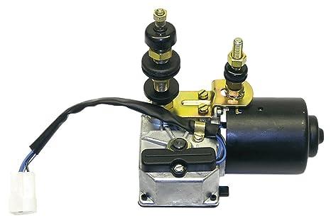 Total fuente 3661343008701 Motor para limpiaparabrisas con interruptor, 24 V, 110 Grado, 1