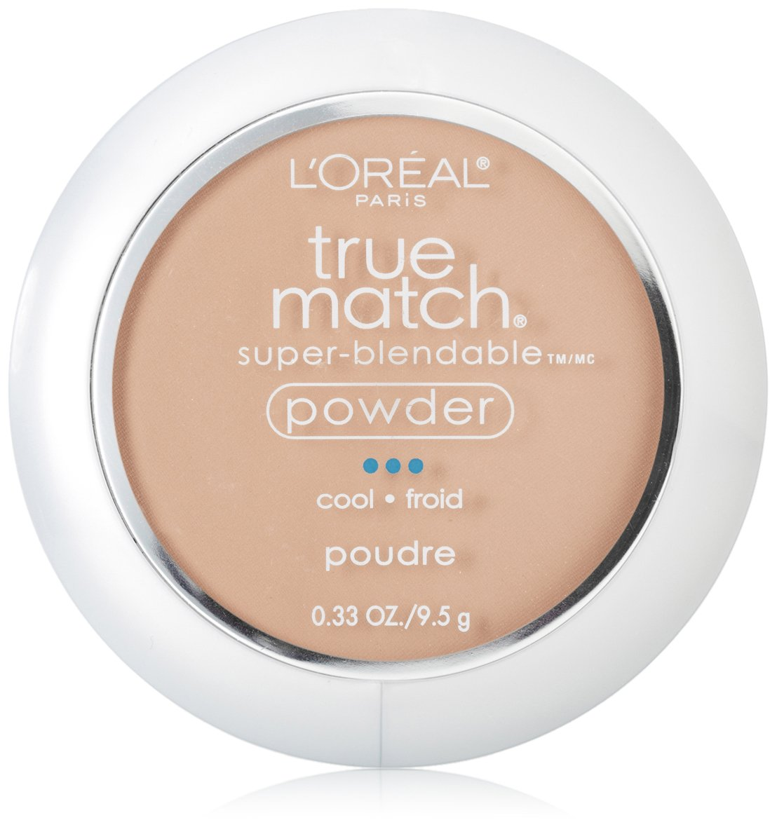 L'Oreal Paris True Match Super-Blendable Powder, Natural Beige, 0.33 Ounce L'Oreal Paris K1600403