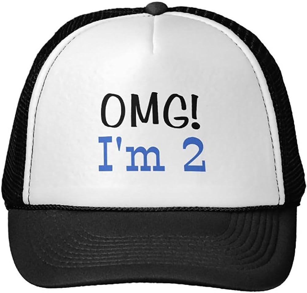 Smity 106 OMG I39;M 2 Blue Trucker Hat