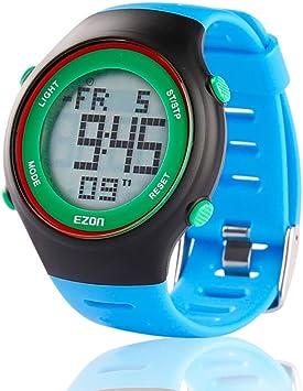 Reloj deportivo digital EZON L008, ultrafino, para exterior ...